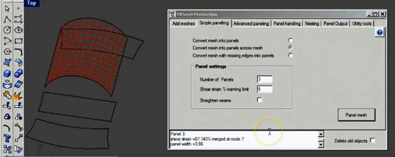 Production screenshot